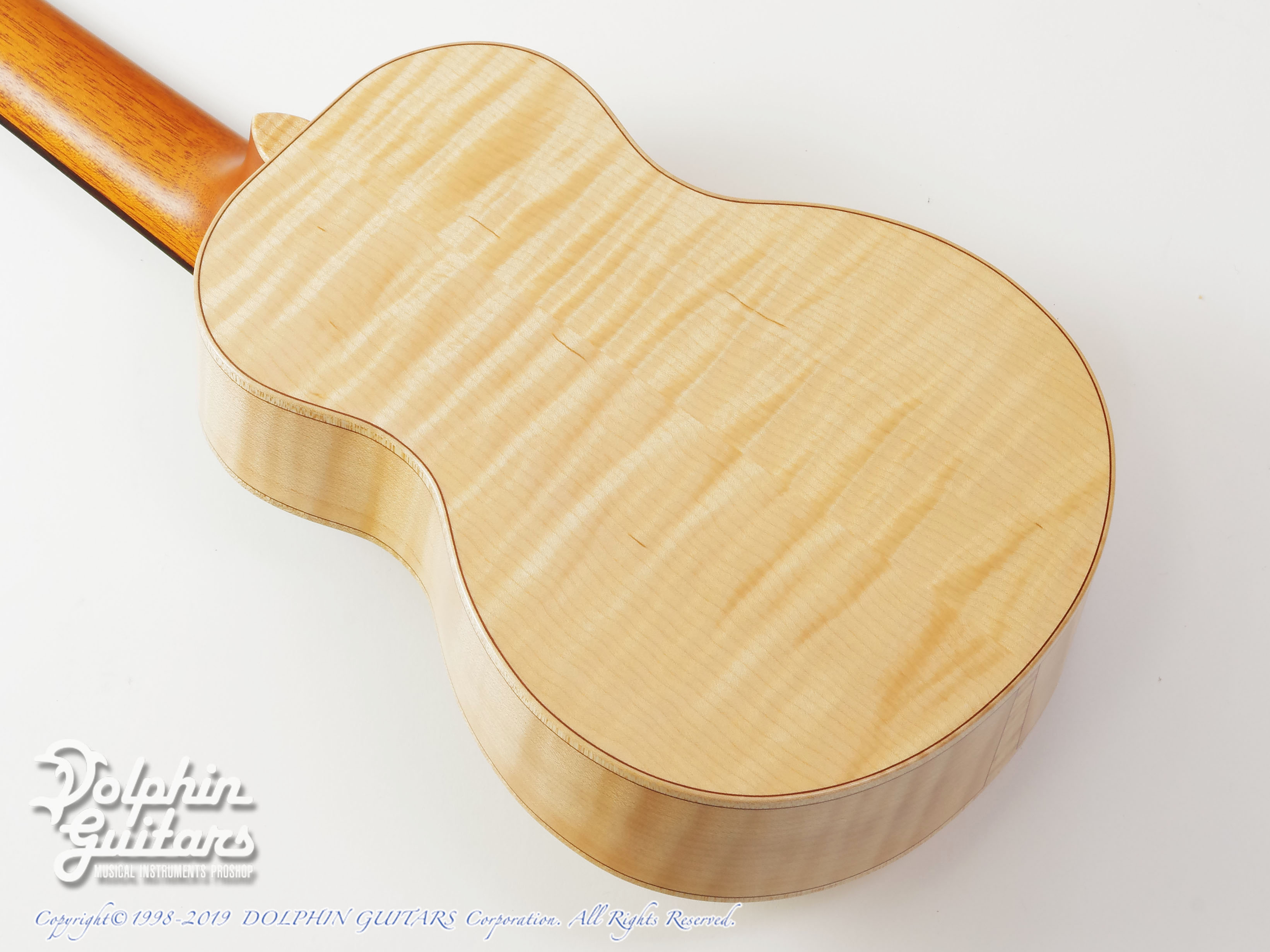 TODA GUITARS: VC (Spruce & Curly Maple) (3)