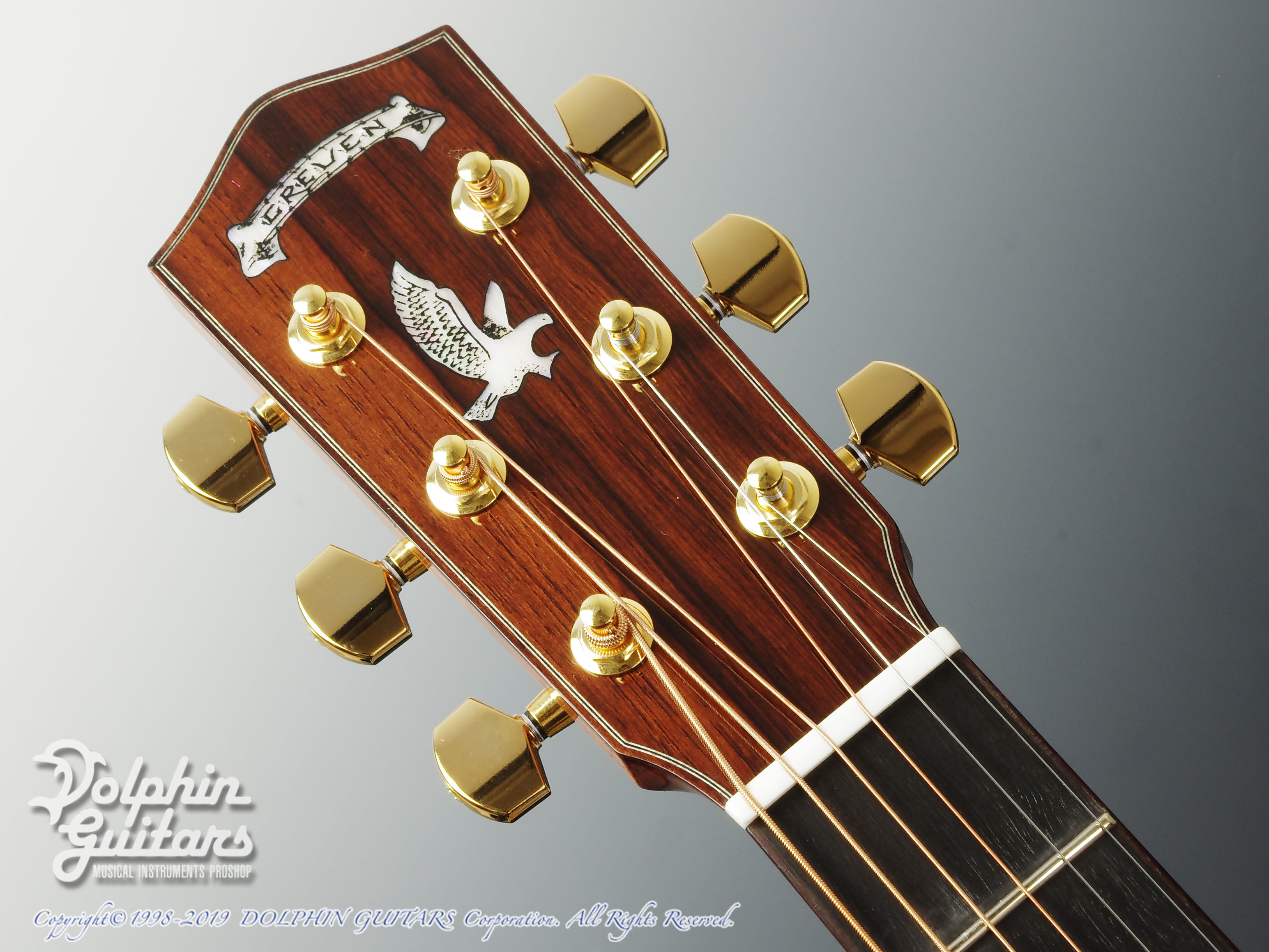 Greven Guitars Japan: Oshio-DC IR (Indian Rosewood) (6)