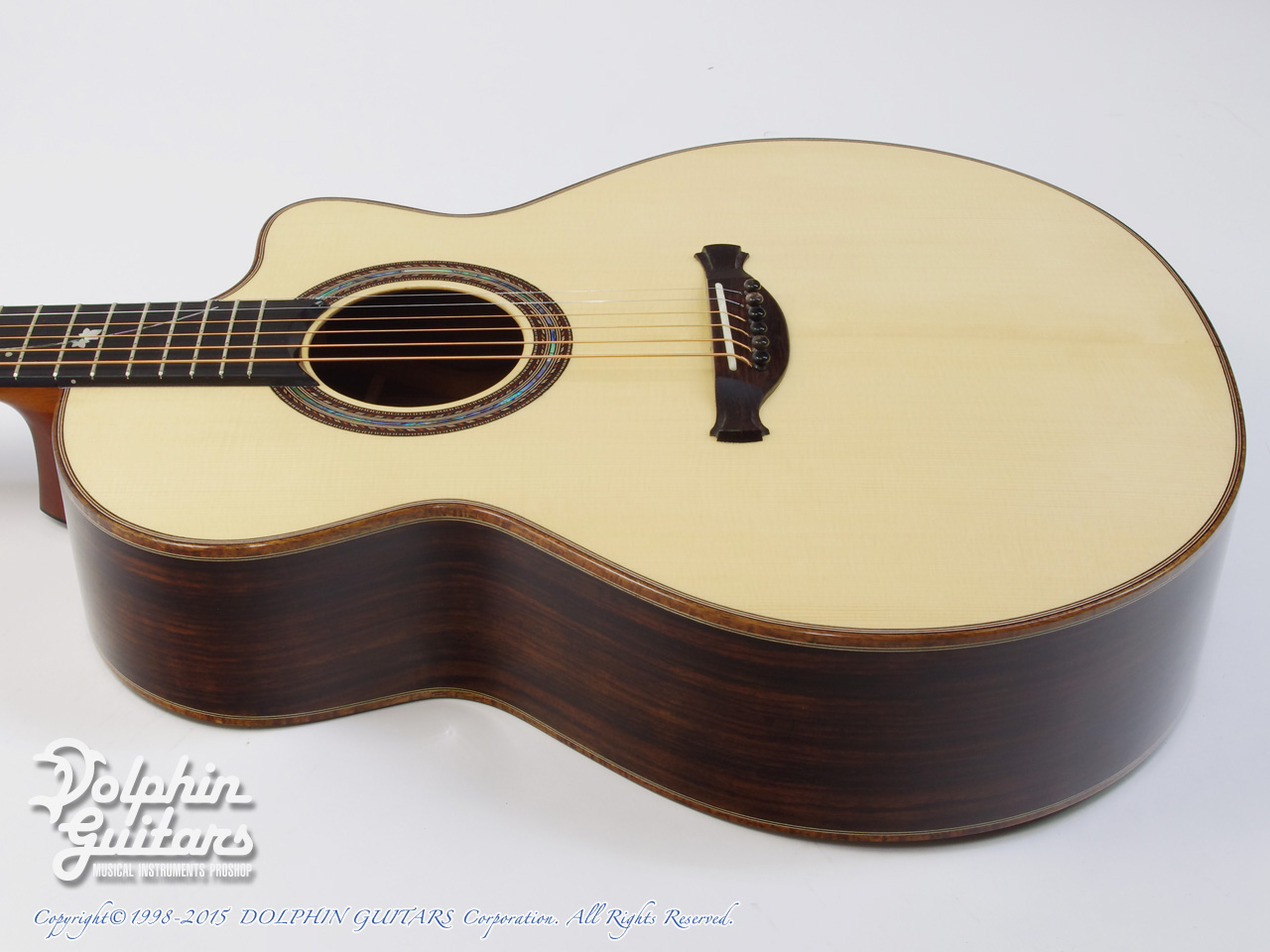 JACK SPIRA GUITARS: JS-A1C Grape Vine (2)