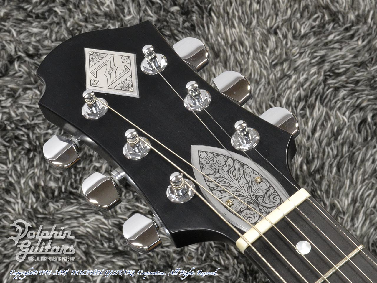 ZEMAITIS =Custom Shop=: CS22SU 3S Black Pearl Diamond (6)