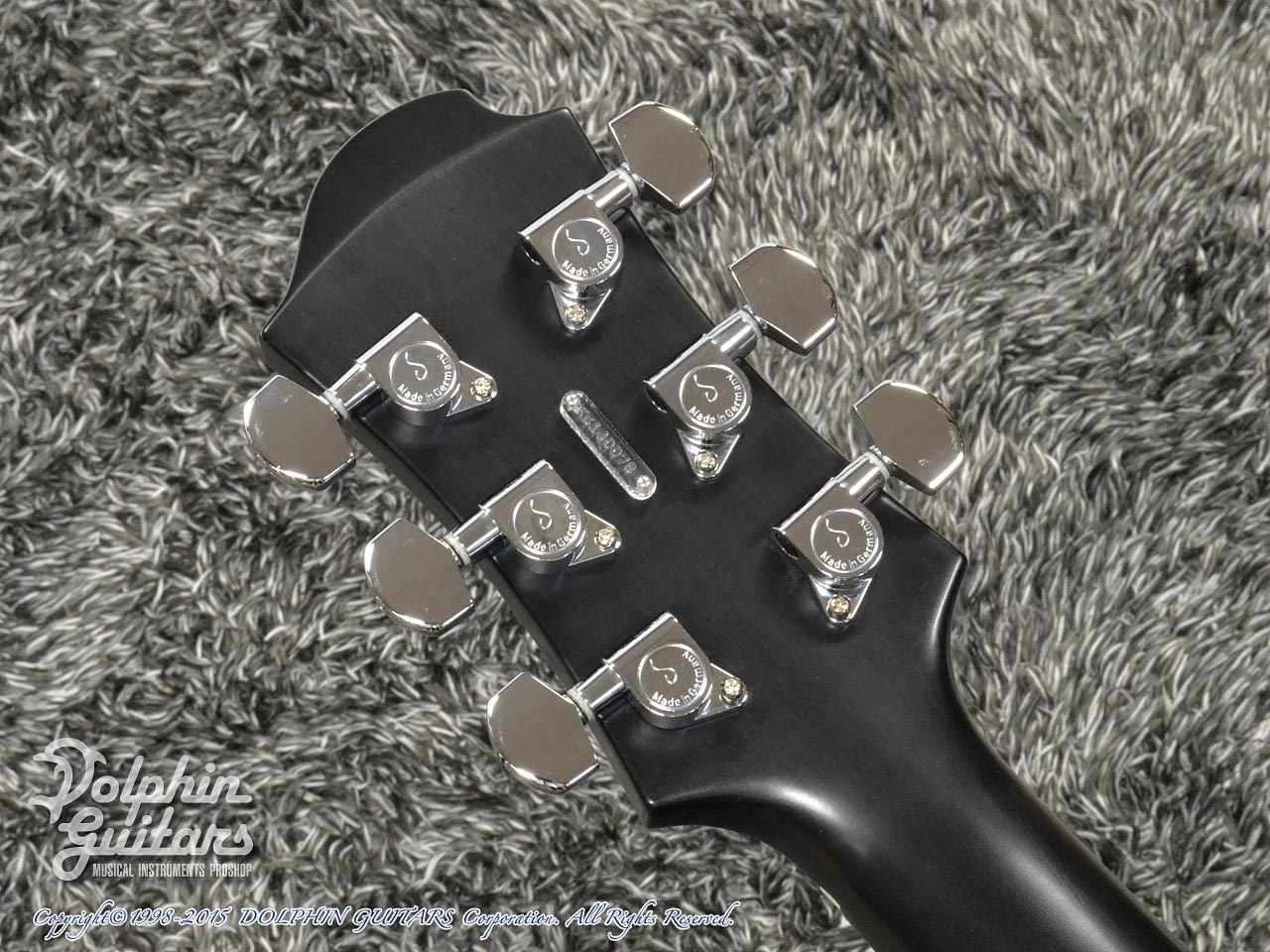 ZEMAITIS =Custom Shop=: CS22SU 3S Black Pearl Diamond (7)