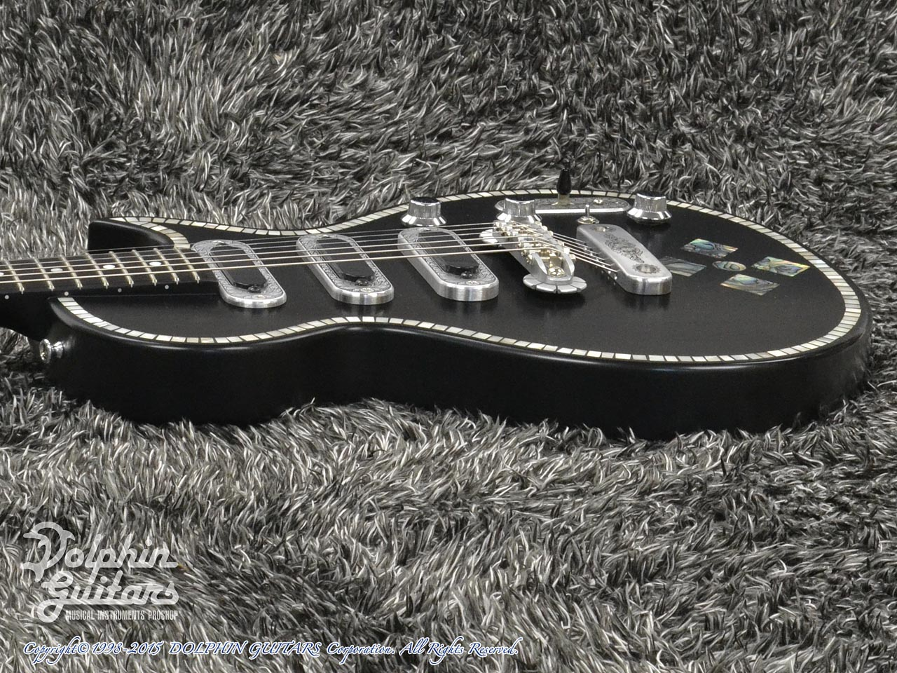 ZEMAITIS =Custom Shop=: CS22SU 3S Black Pearl Diamond (2)