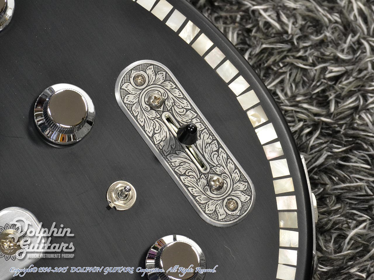 ZEMAITIS =Custom Shop=: CS22SU 3S Black Pearl Diamond (10)