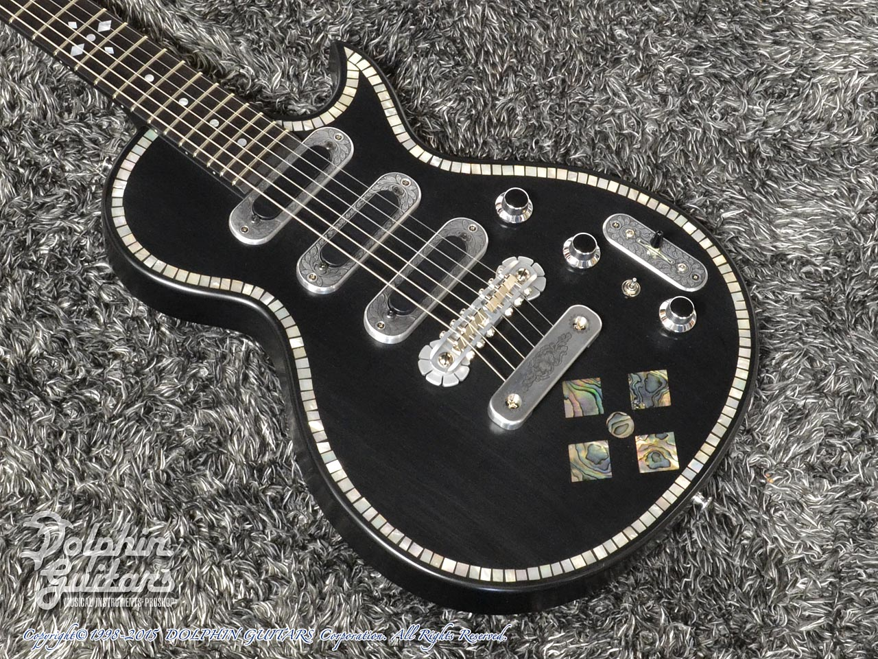 ZEMAITIS =Custom Shop=: CS22SU 3S Black Pearl Diamond (1)