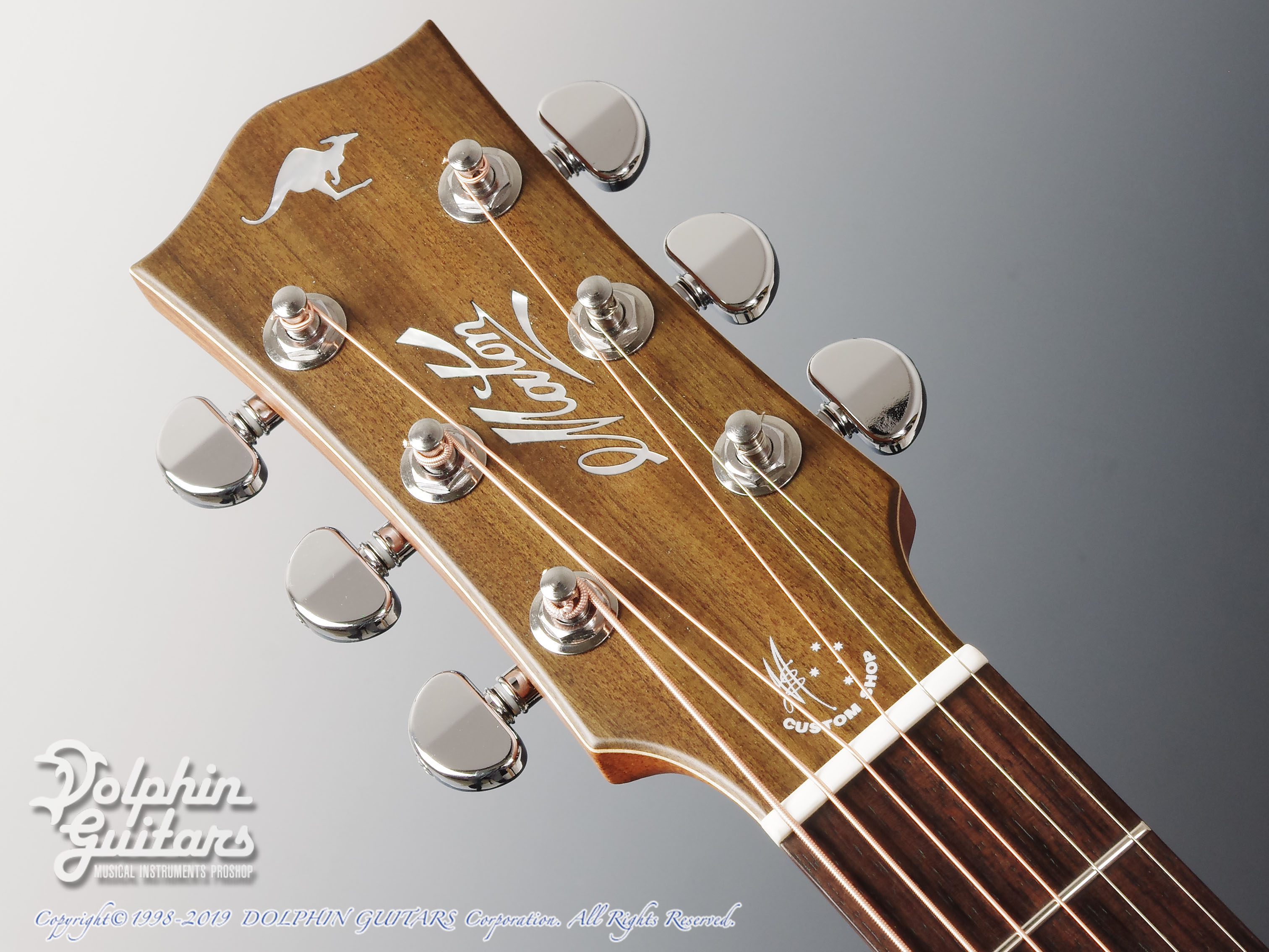 MATON: Custom Shop EBG808C Tommy Personal Thinline (6)