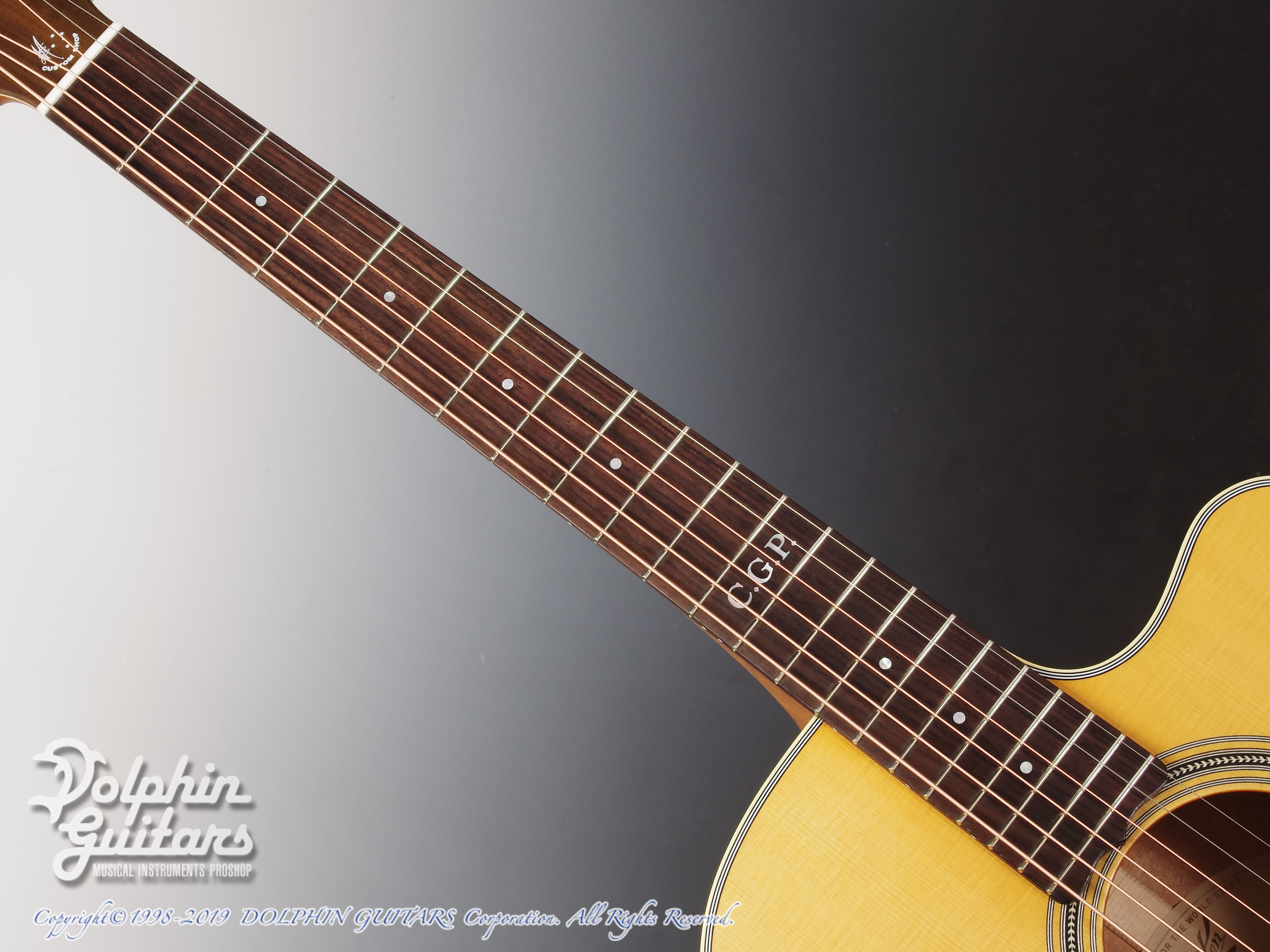 MATON: Custom Shop EBG808C Tommy Personal Thinline (4)
