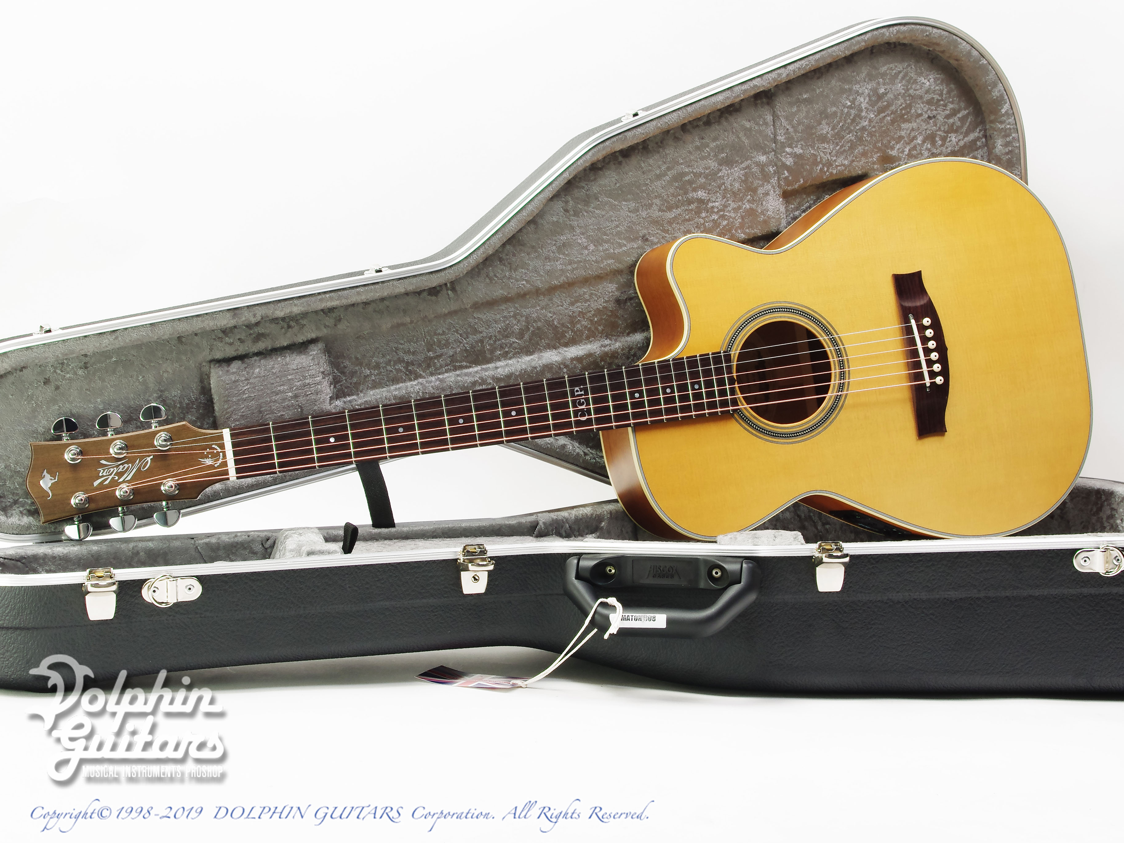 MATON: Custom Shop EBG808C Tommy Personal Thinline (0)
