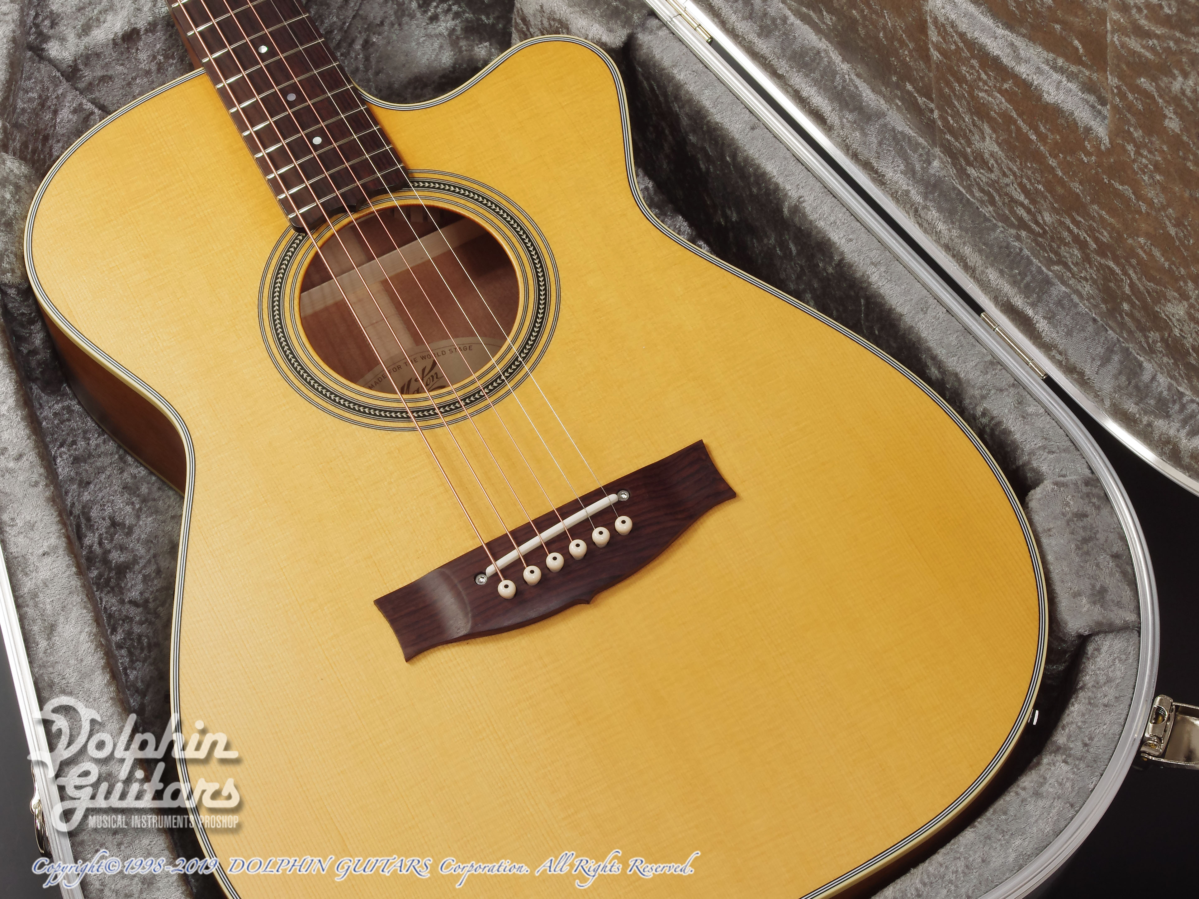 MATON: Custom Shop EBG808C Tommy Personal Thinline (8)