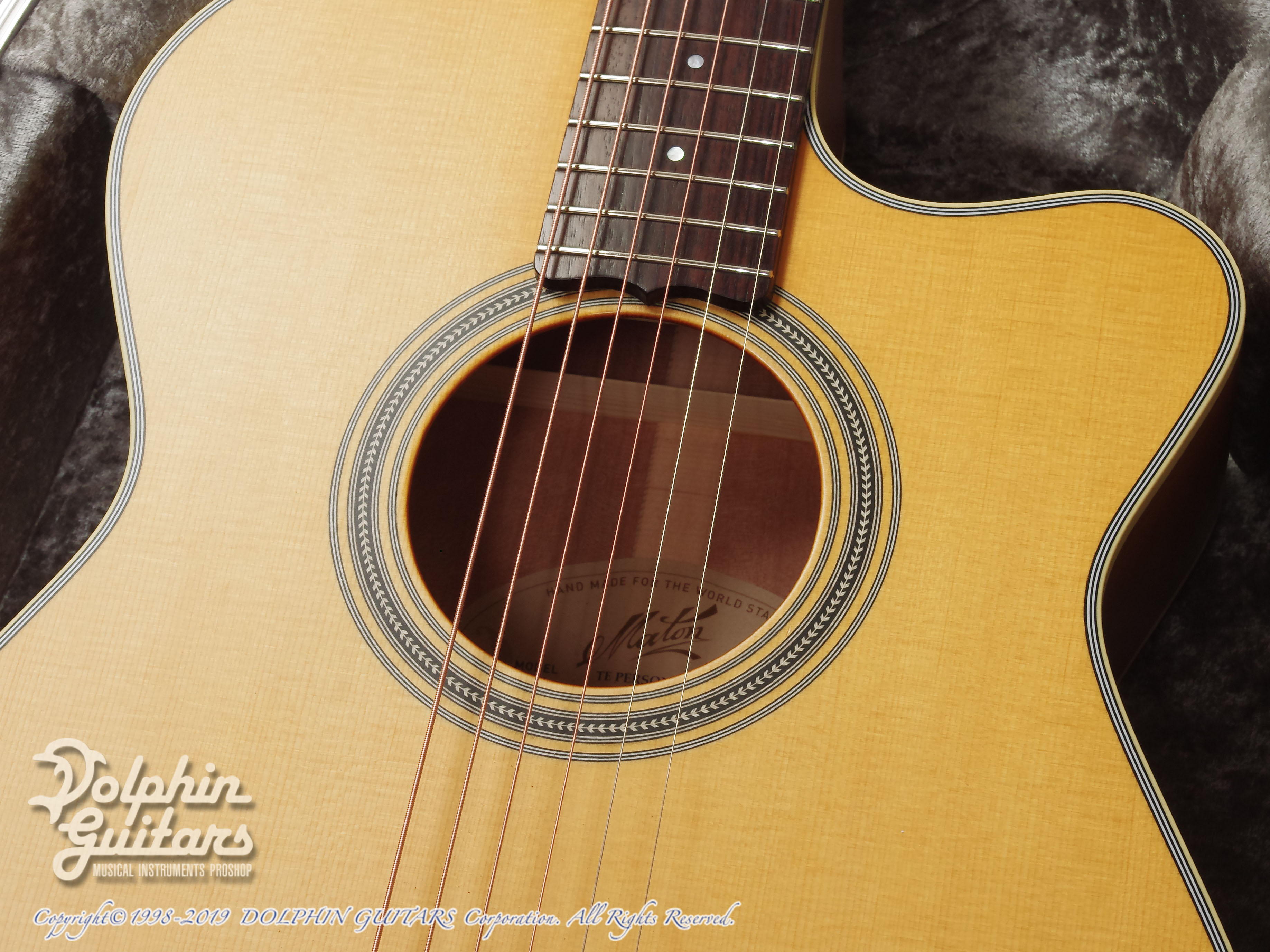 MATON: Custom Shop EBG808C Tommy Personal Thinline (10)