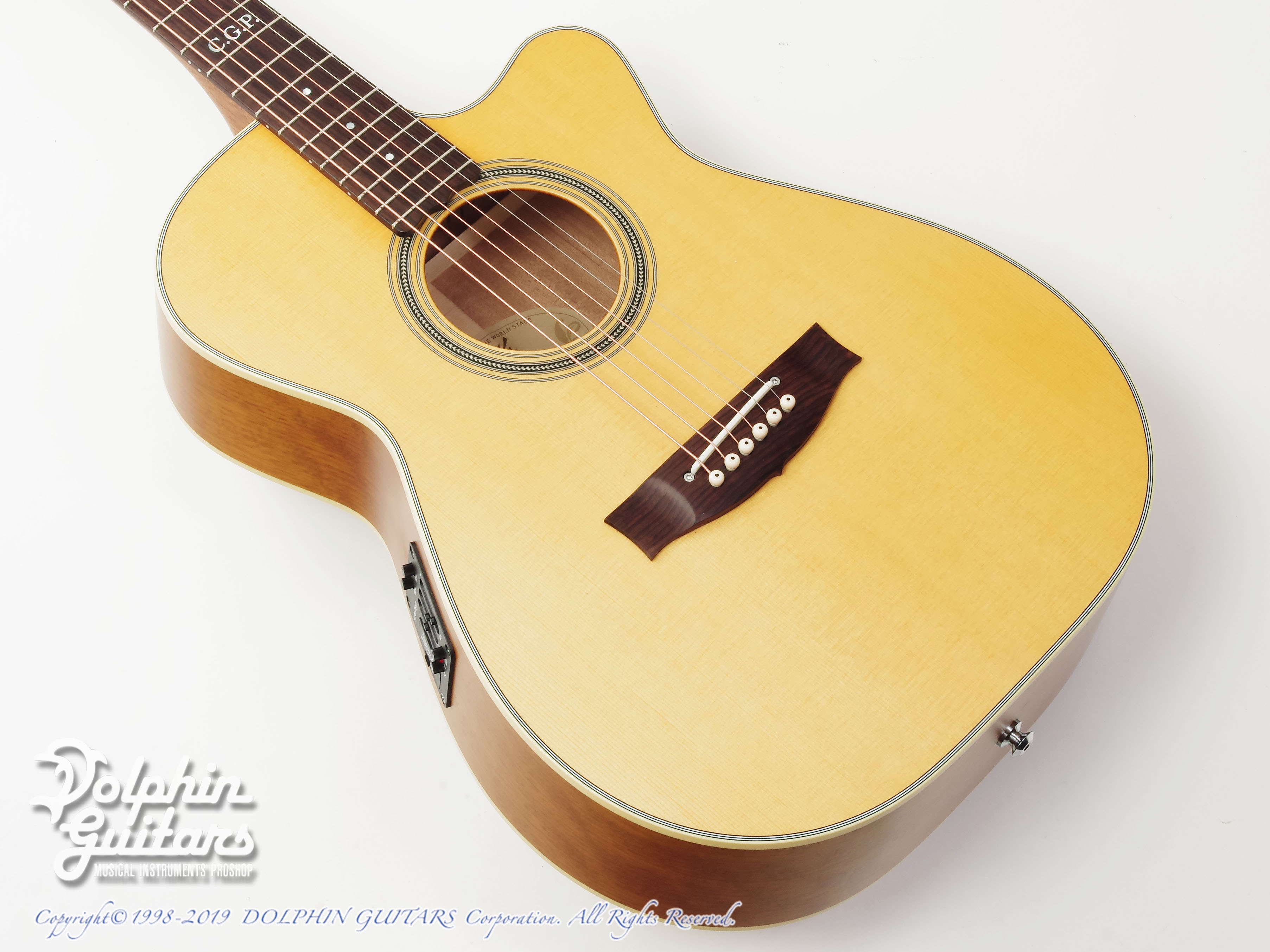 MATON: Custom Shop EBG808C Tommy Personal Thinline (1)