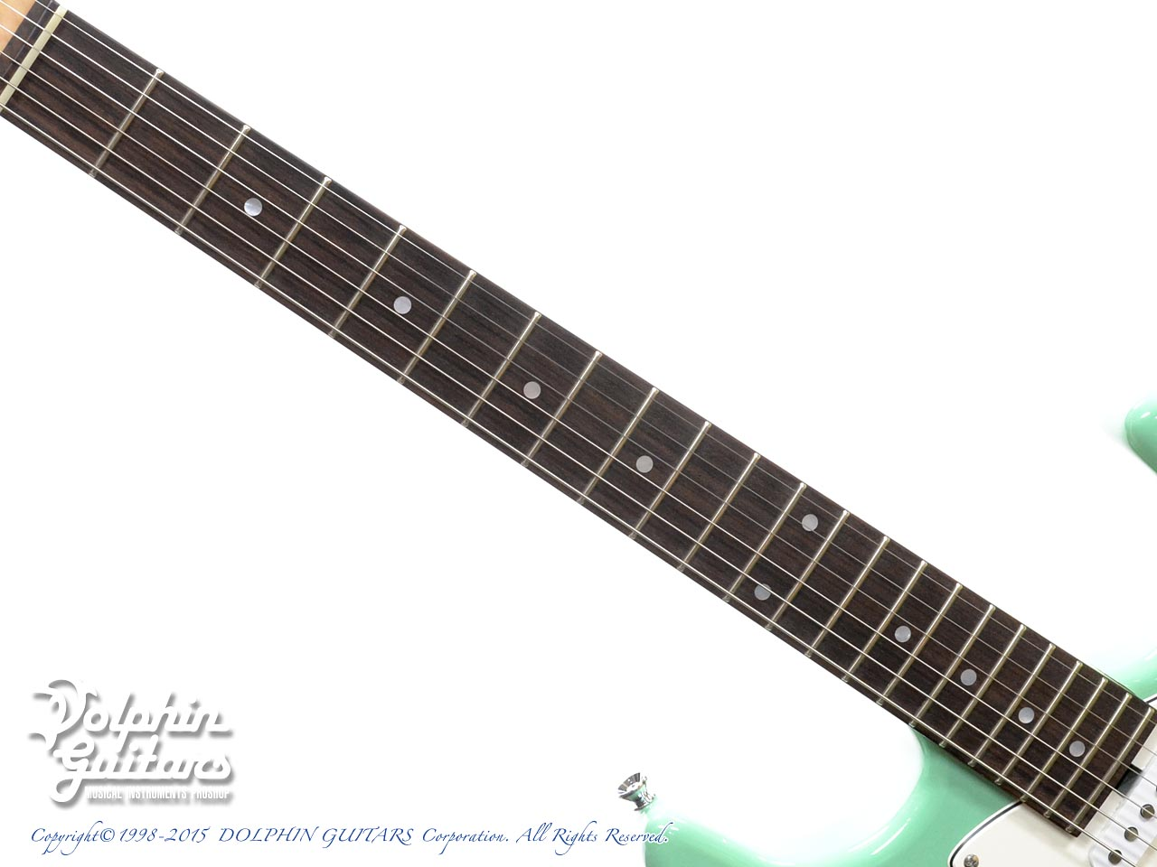 TOPROCK GUITARS: ST-G6 Classic (Sea Form Green) (4)