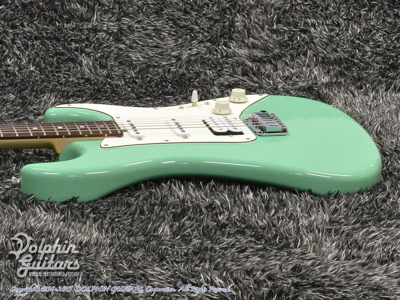 TOPROCK GUITARS: ST-G6 Classic (Sea Form Green) (2)