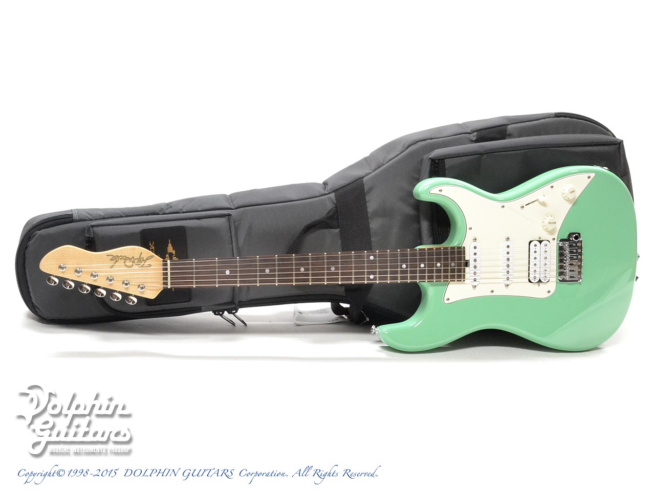 TOPROCK GUITARS: ST-G6 Classic (Sea Form Green) (0)