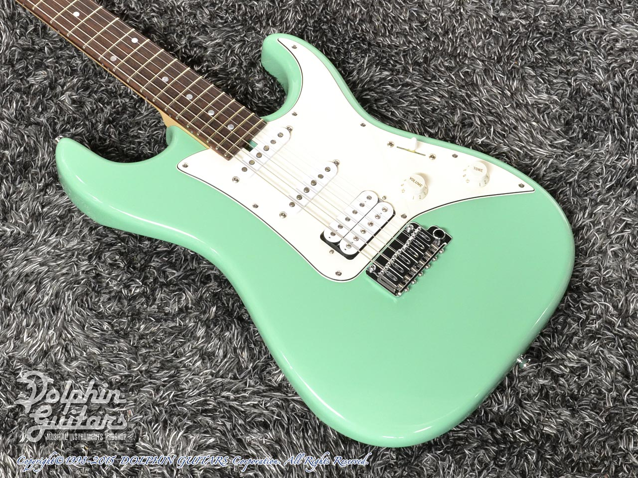 TOPROCK GUITARS: ST-G6 Classic (Sea Form Green) (1)
