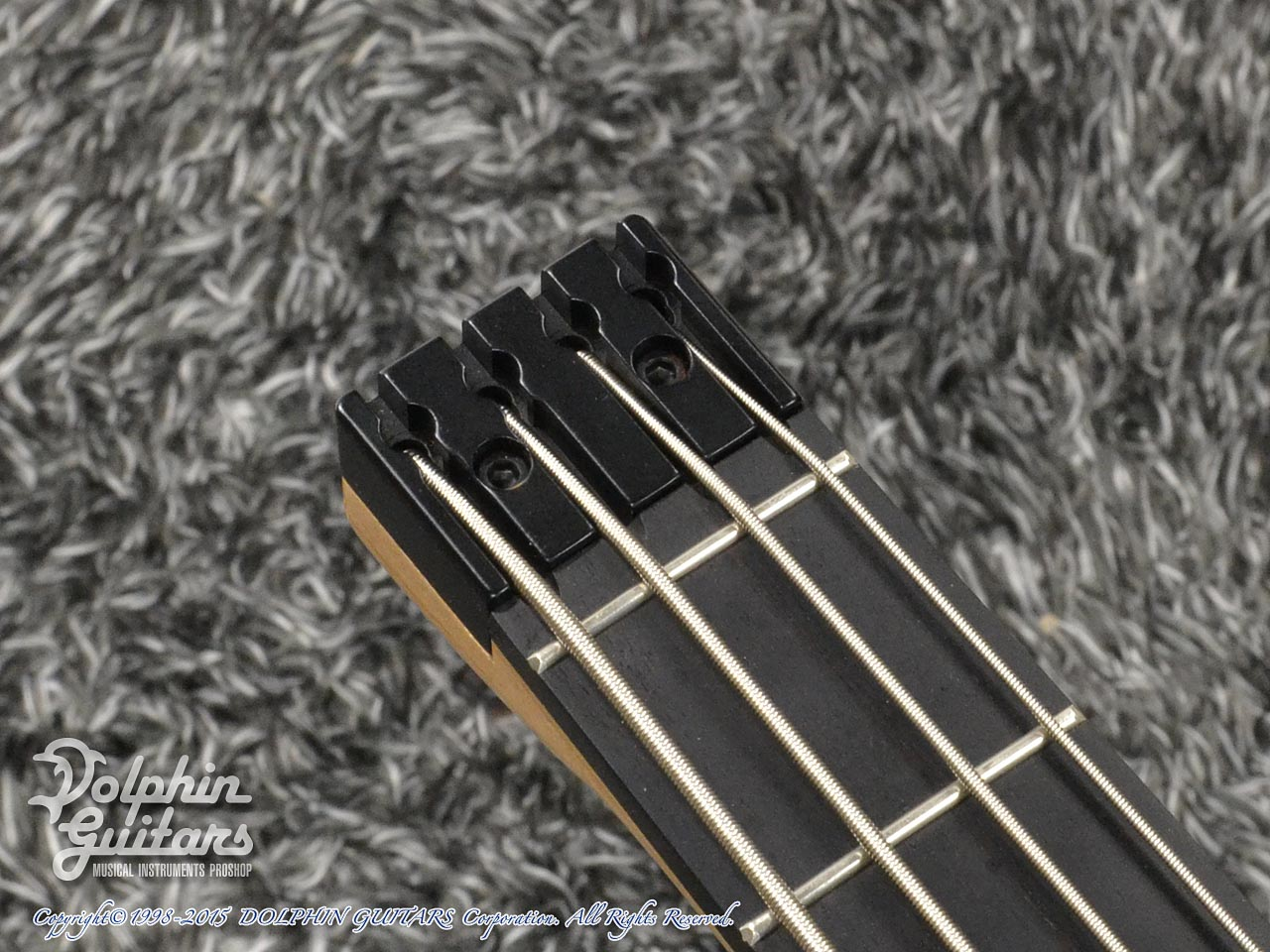 Charo's: Compact Headless Bass (Hawaiian Koa) (6)