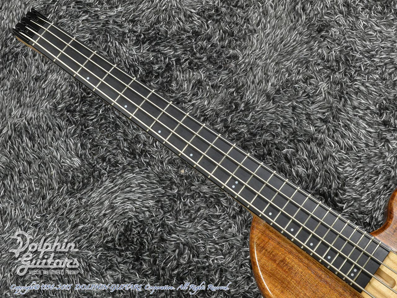 Charo's: Compact Headless Bass (Hawaiian Koa) (4)