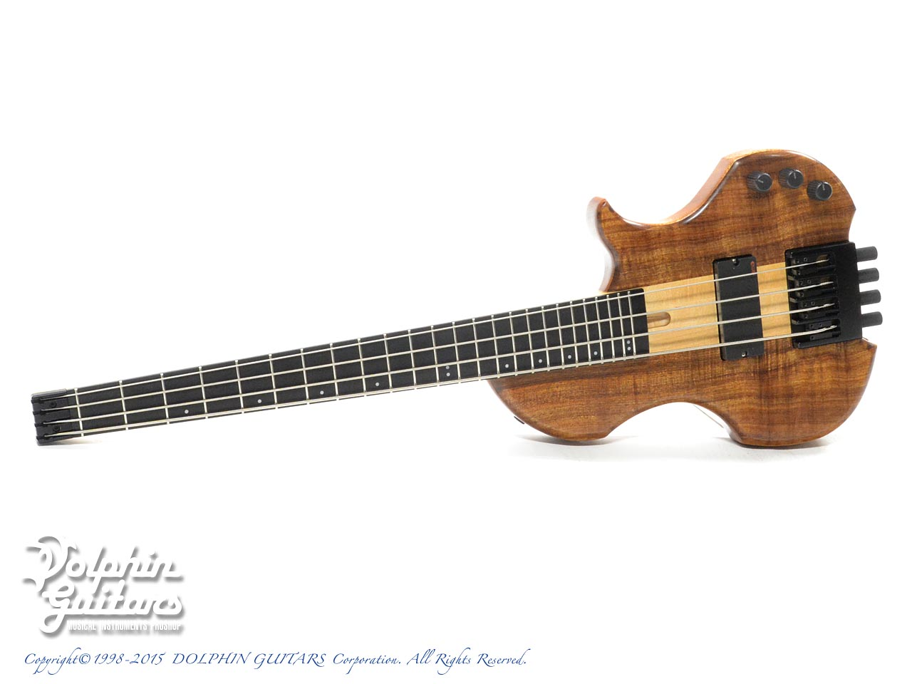 Charo's: Compact Headless Bass (Hawaiian Koa) (0)