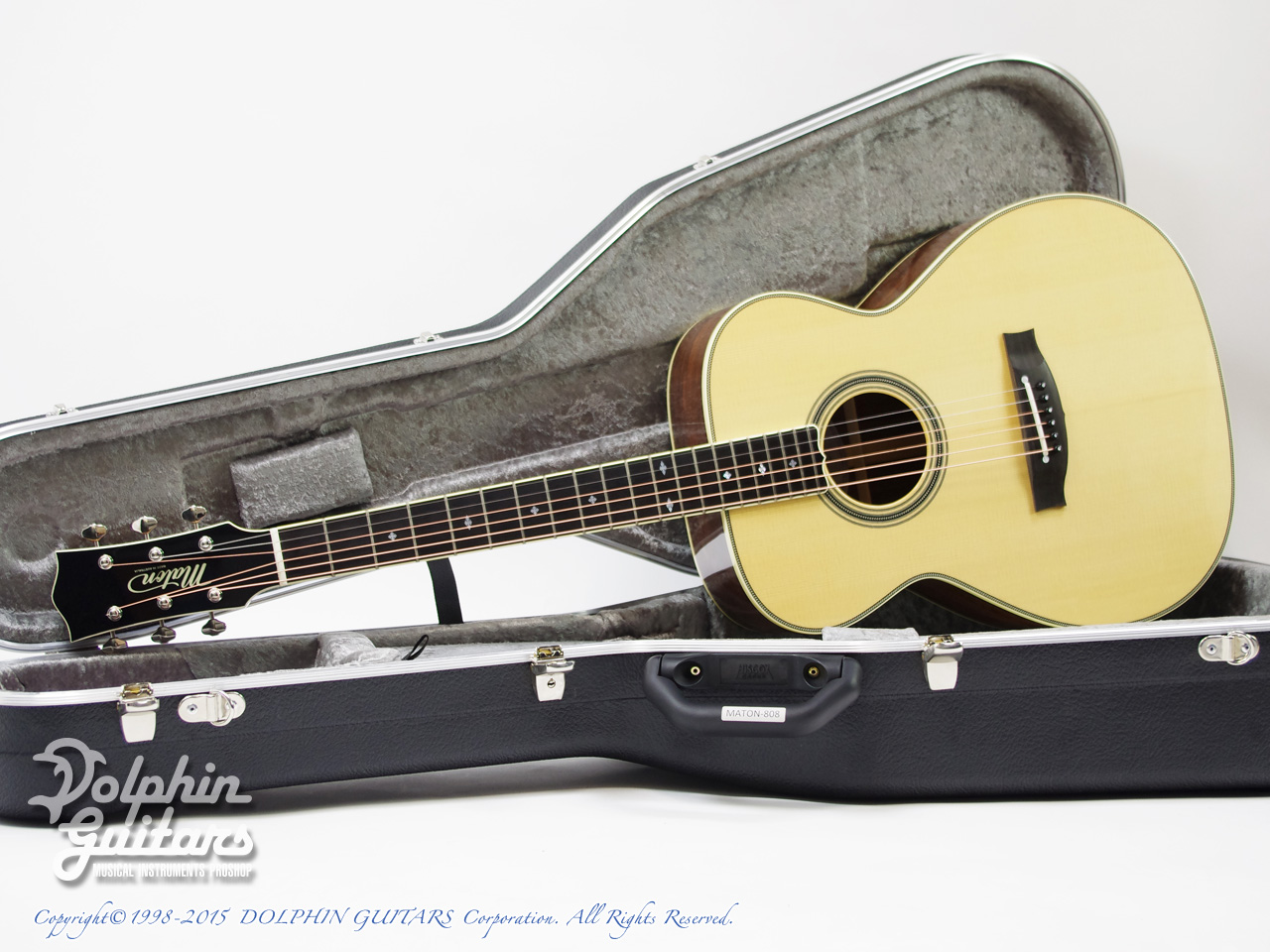 MATON: Custom Shop AA TRADITIONAL (Honduran Rosewood) (0)