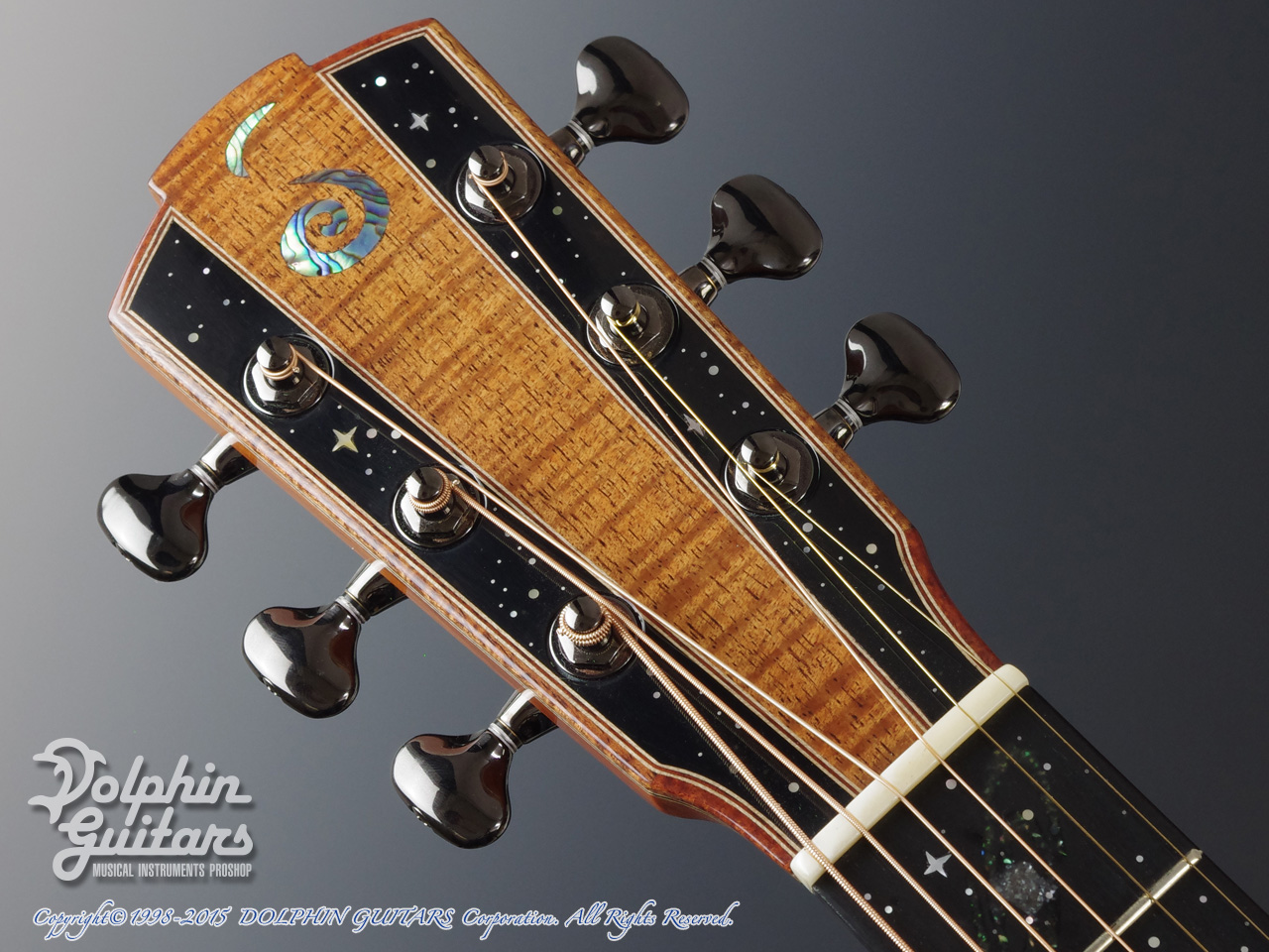 JACK SPIRA GUITARS: JS-5AC Night Sky (6)