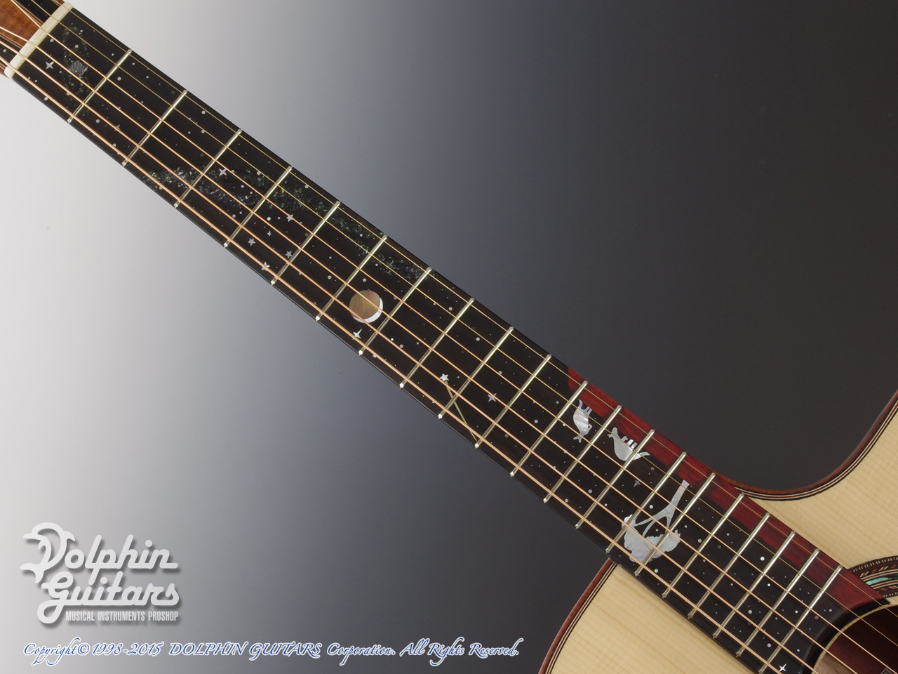 JACK SPIRA GUITARS: JS-5AC Night Sky (4)