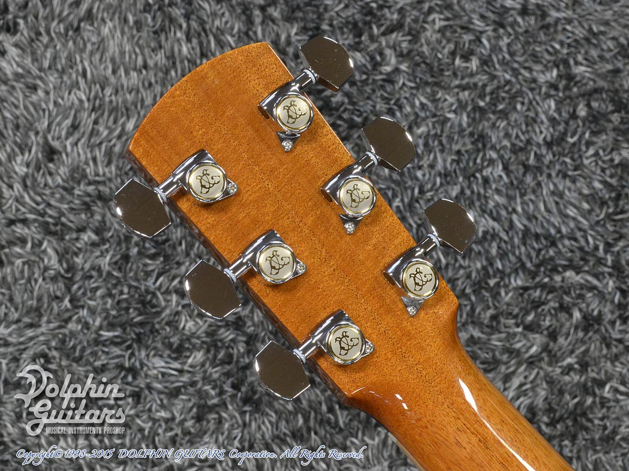 LARRIVEE: Custom Shop LV-10 Torch (Quilted Mahogany) (7)