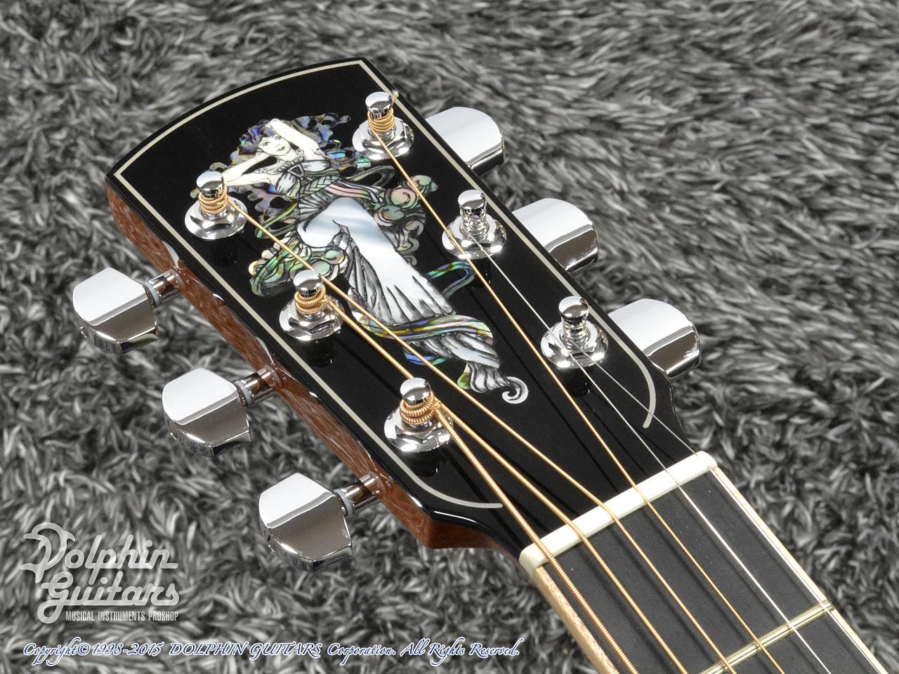 LARRIVEE: Custom Shop LV-10 Mucha Lady (Silver Oak) (6)