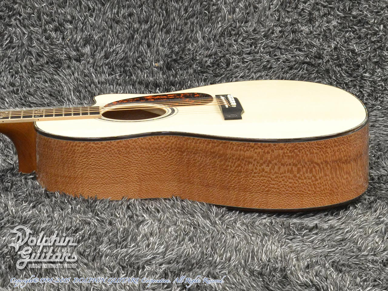 LARRIVEE: Custom Shop LV-10 Mucha Lady (Silver Oak) (2)