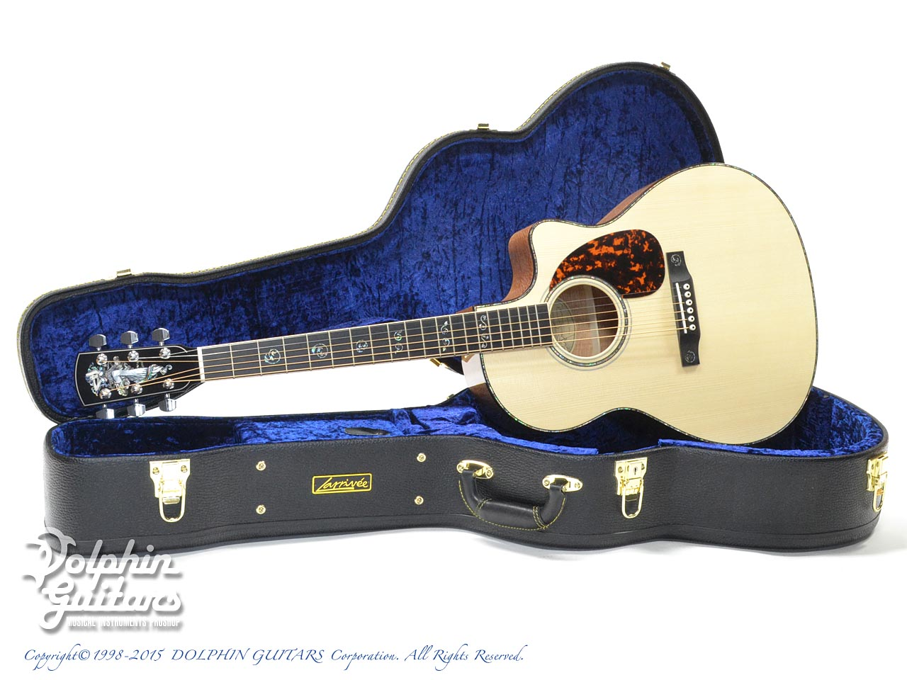 LARRIVEE: Custom Shop LV-10 Mucha Lady (Silver Oak) (0)