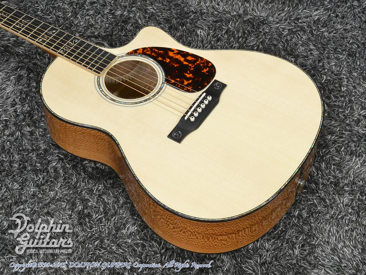 LARRIVEE: Custom Shop LV-10 Mucha Lady (Silver Oak) (1)