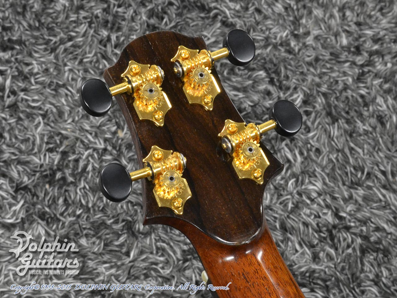 WATER ROAD GUITARS: Custom Tenor<German Spruce&African Black Wood> (7)