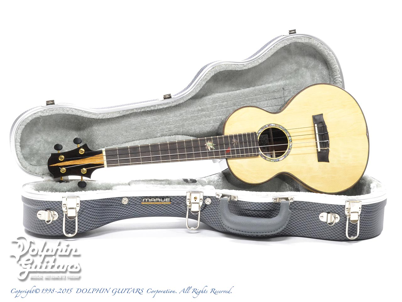 WATER ROAD GUITARS: Custom Tenor<German Spruce&African Black Wood> (0)