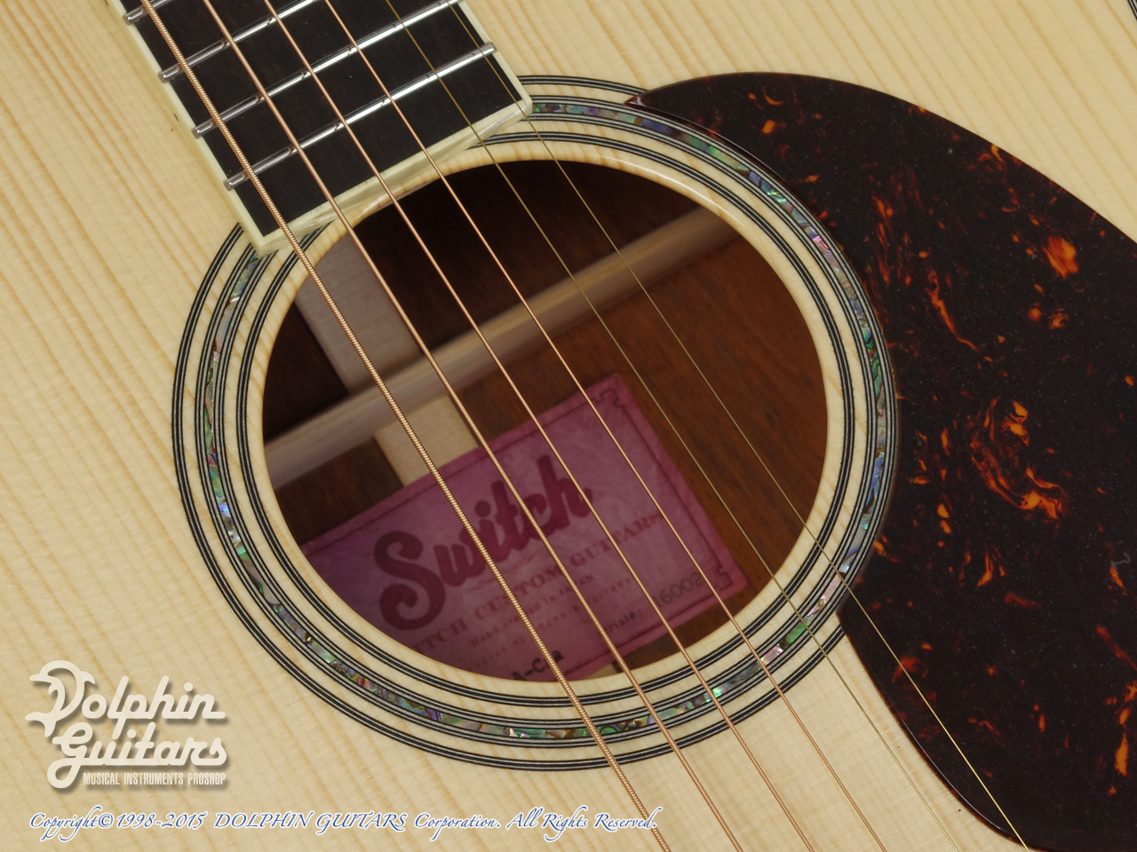 SWITCH:  SCD-3 A-Caa Limited (Adirondack Spruce & Cocobolo) (8)