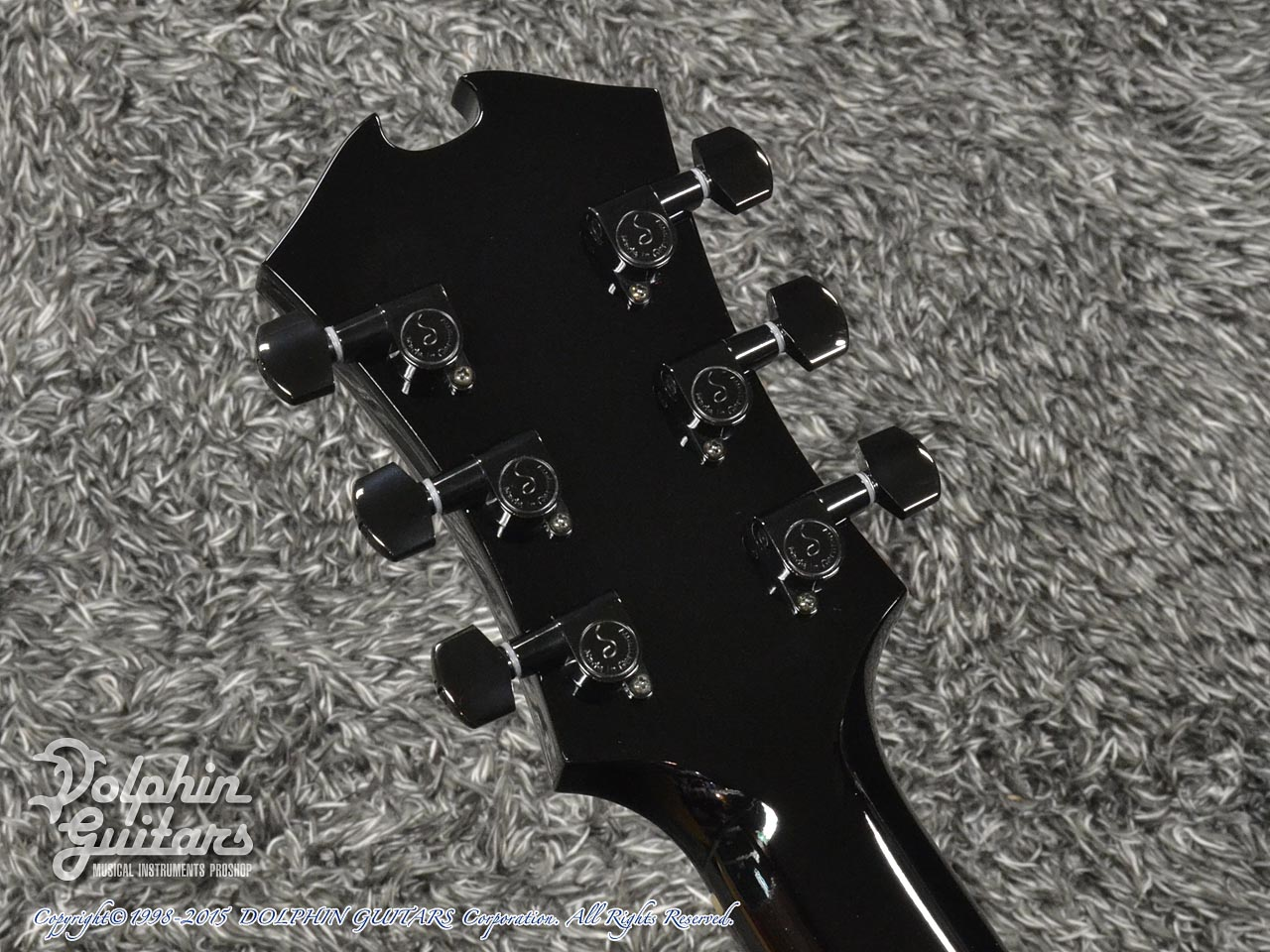 SAITO GUITARS: M35SMM (Trans Black) (7)
