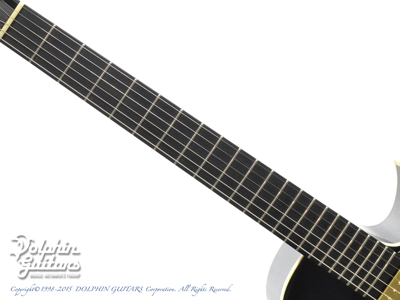 SAITO GUITARS: M35SMM (Trans Black) (4)