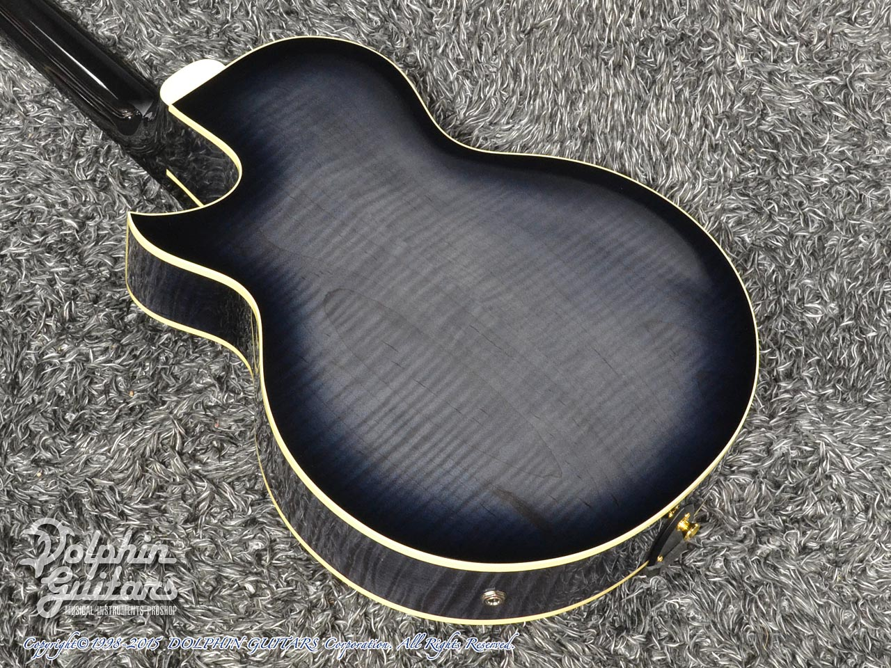SAITO GUITARS: M35SMM (Trans Black) (3)