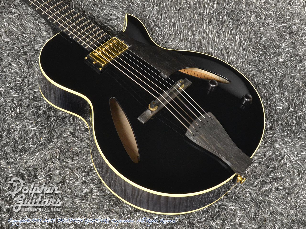 SAITO GUITARS: M35SMM (Trans Black) (1)