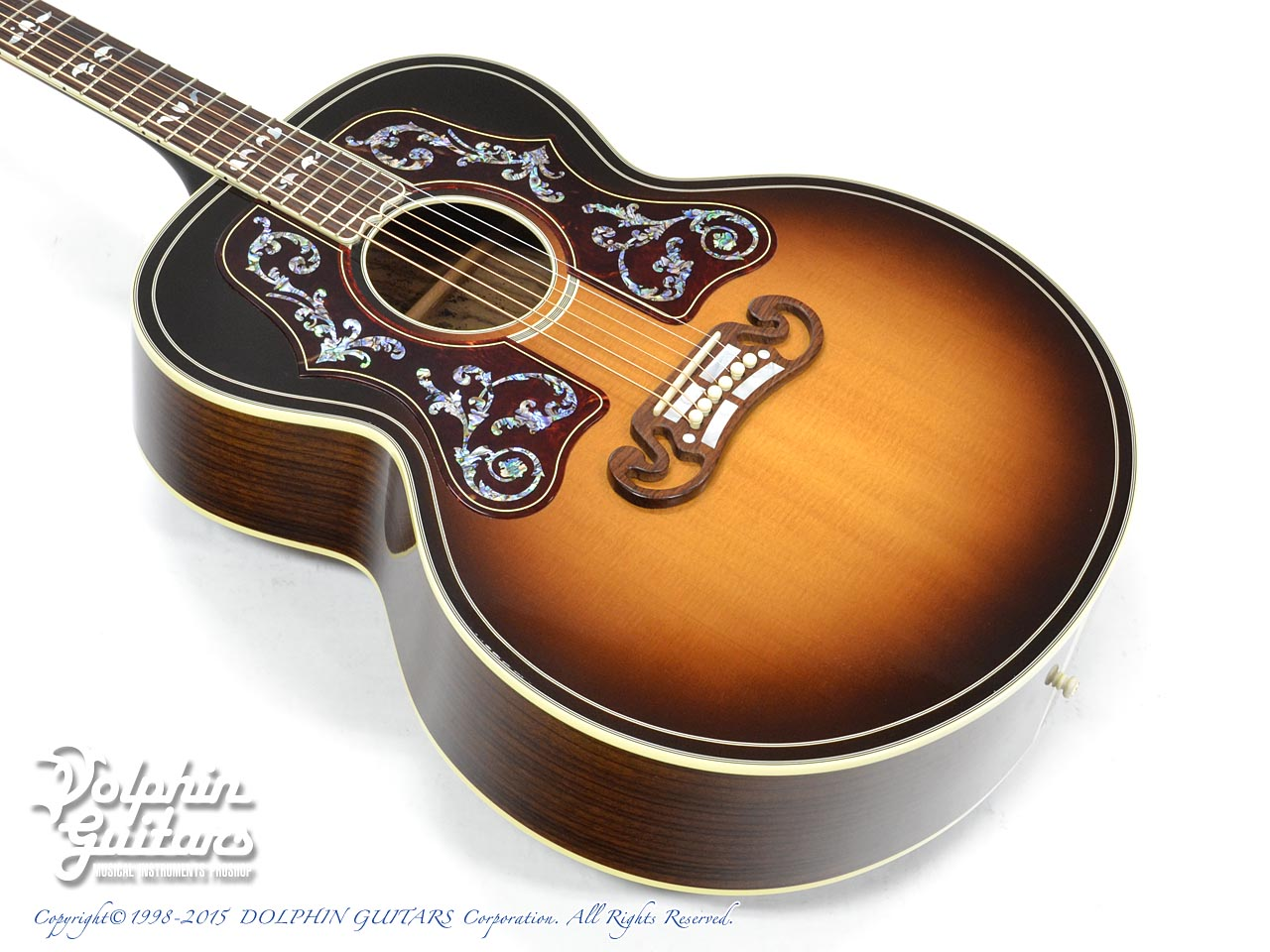Gibson: Bob Dylan Autographed SJ-200 Collector's Edition (1)