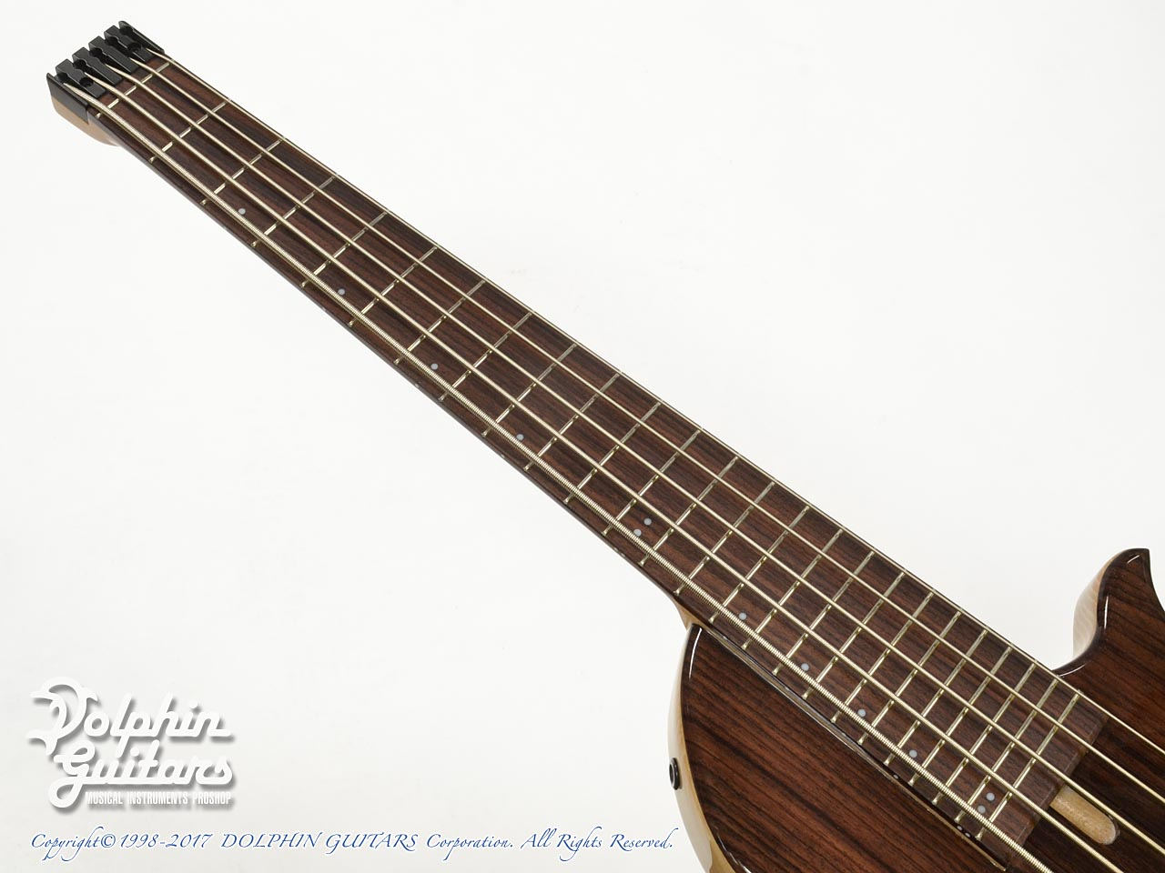 Charo's: CH-B5 Compact Headless Bass (Indian Rosewood) (5)