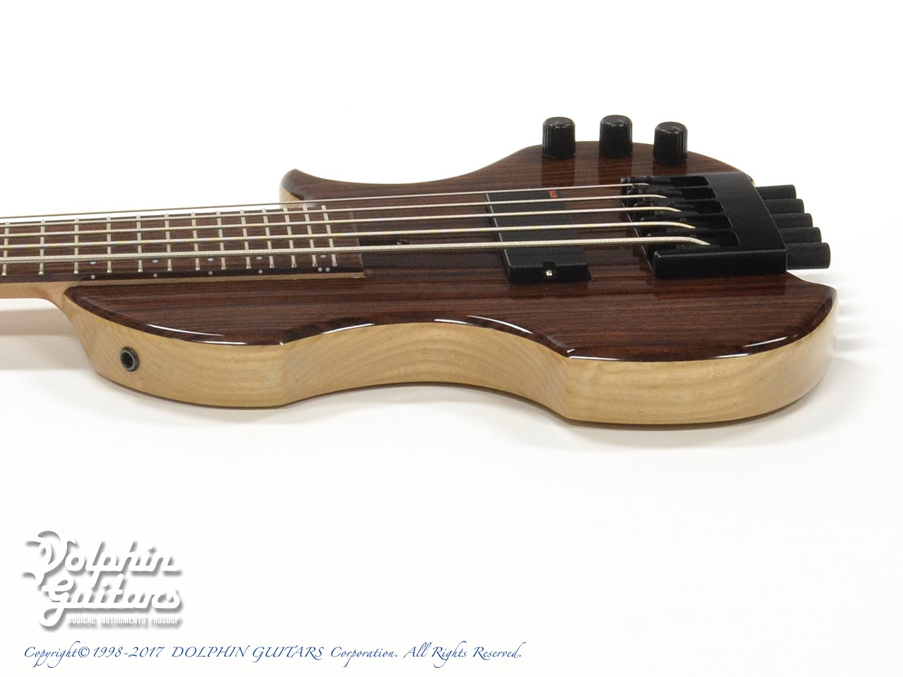 Charo's: CH-B5 Compact Headless Bass (Indian Rosewood) (2)