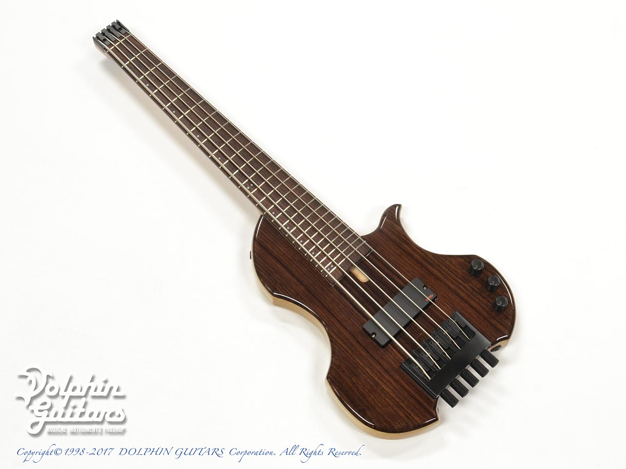 Charo's: CH-B5 Compact Headless Bass (Indian Rosewood) (0)