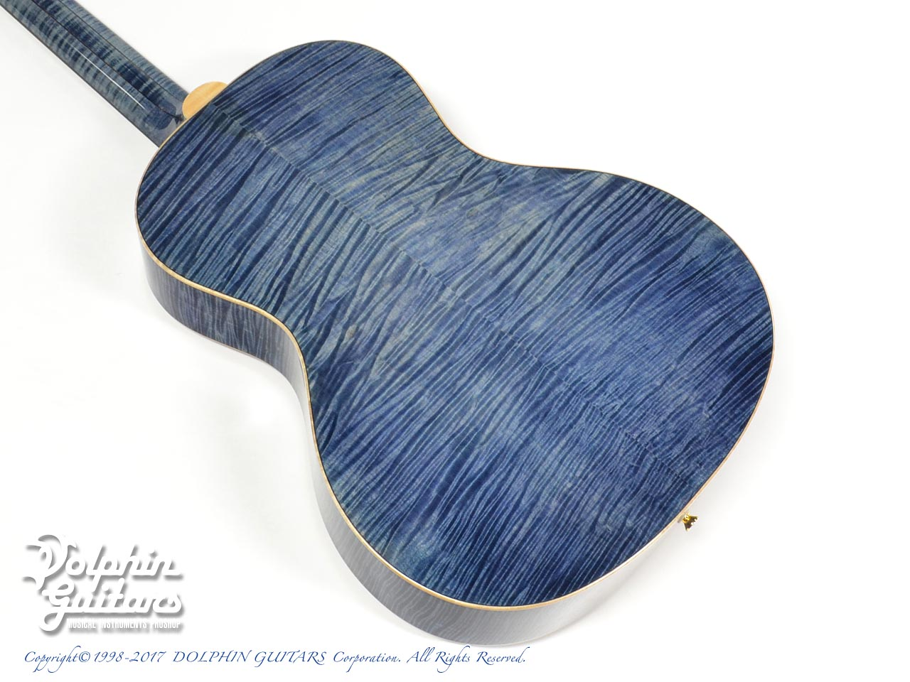 VG: VG-00 Ltd. FM (Flame Maple) (Sakan Gradation Blue) (3)