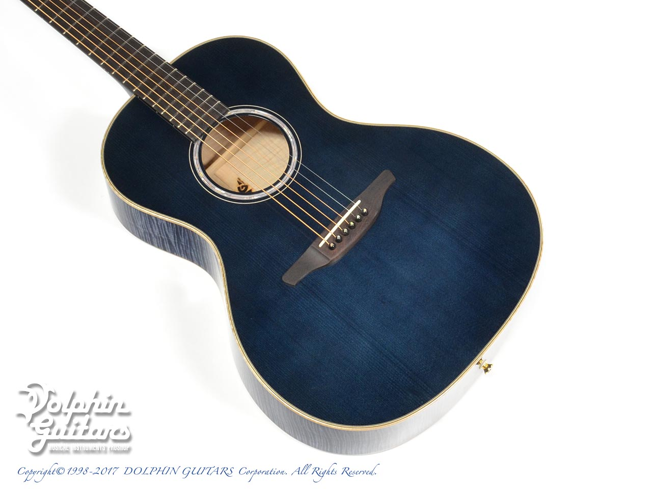 VG: VG-00 Ltd. FM (Flame Maple) (Sakan Gradation Blue) (1)
