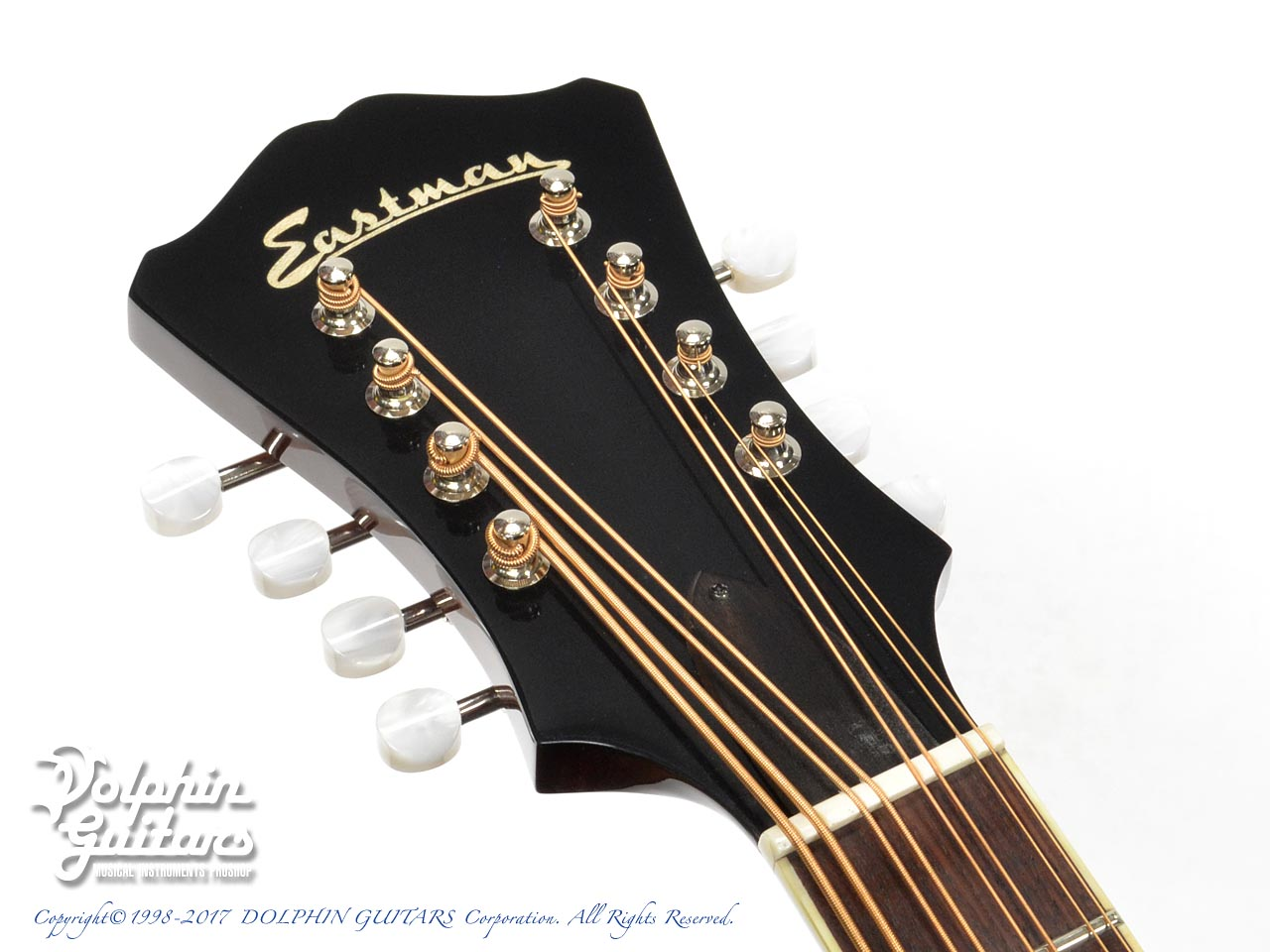 EASTMAN: AR-400 Mandocello Black Top  (6)