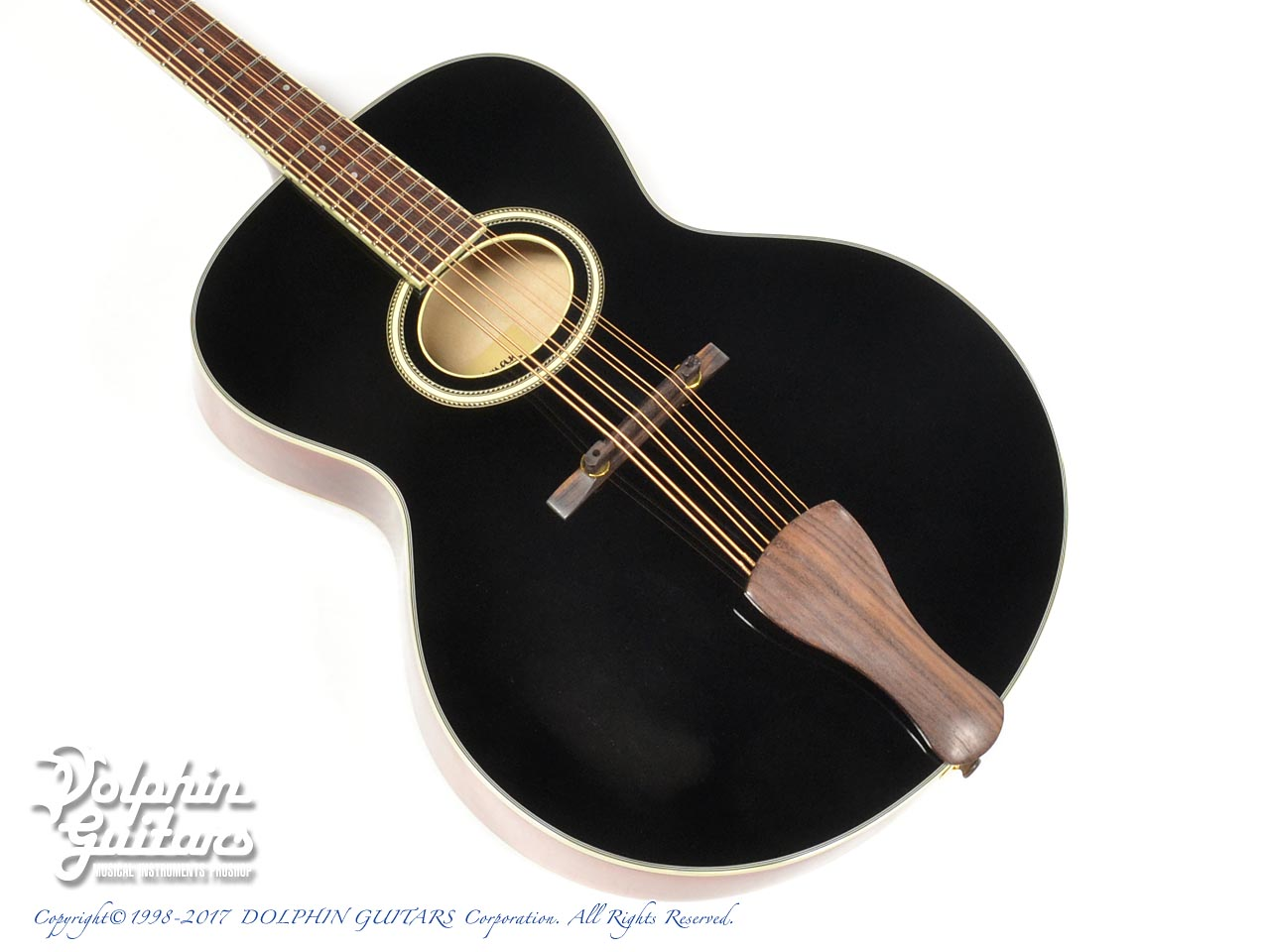 EASTMAN: AR-400 Mandocello Black Top  (1)
